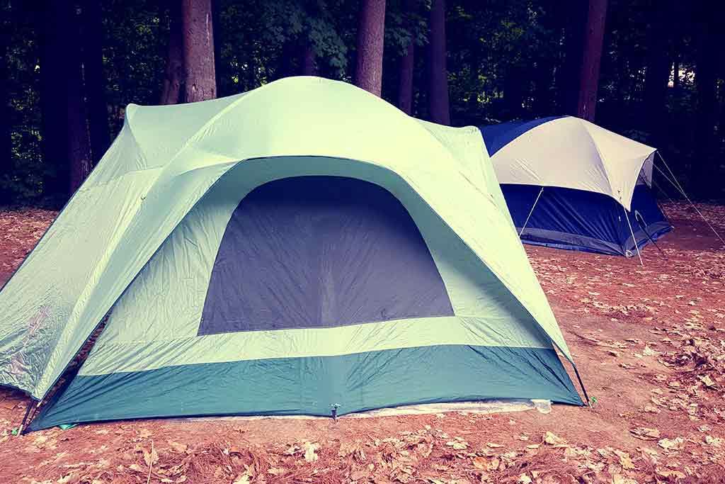 Vier type kampeerders