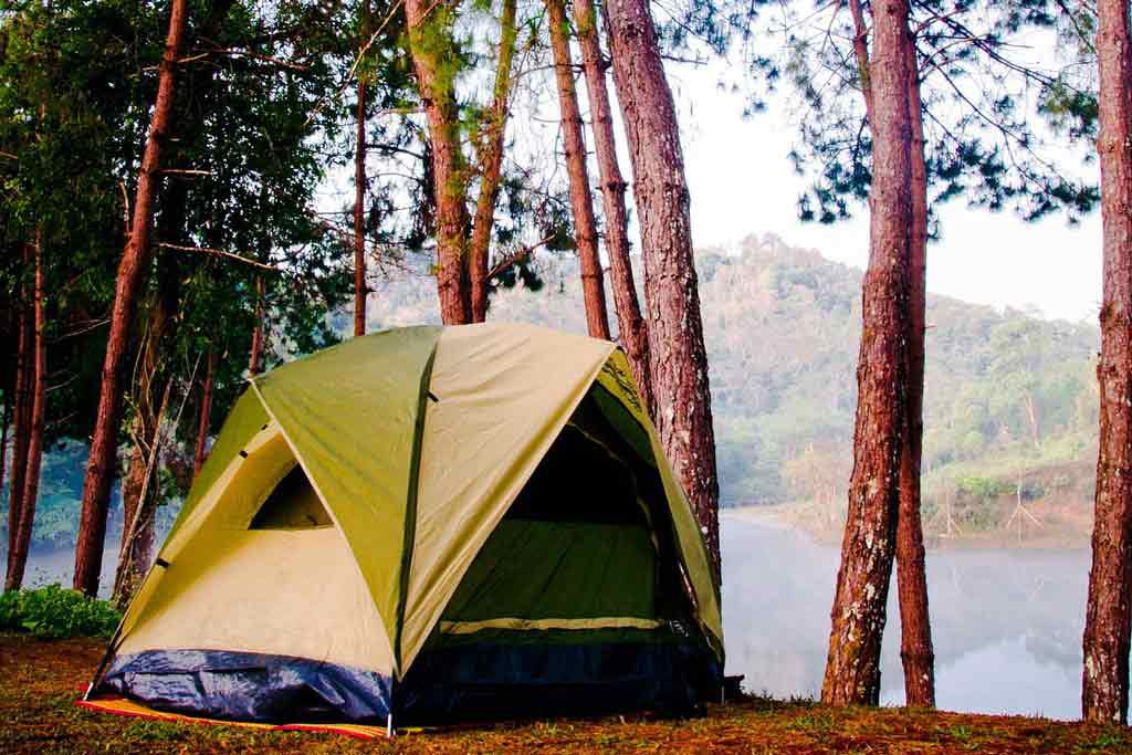 Schoonmaaktips voor de tent